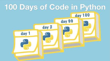 100 Days Of Code in Python