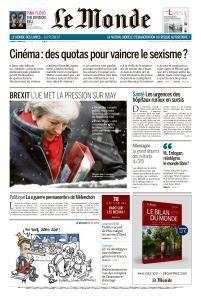 Le Monde du Vendredi 2 Mars 2018