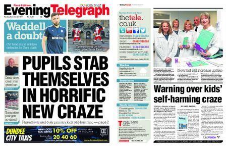 Evening Telegraph First Edition – November 21, 2017