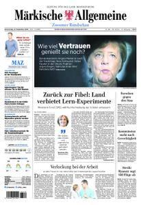 Märkische Allgemeine Zossener Rundschau - 27. September 2018