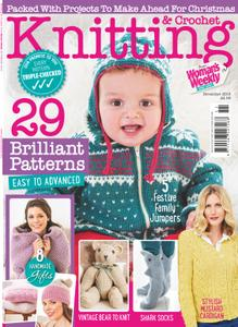 Knitting & Crochet from Woman's Weekly - November 2018