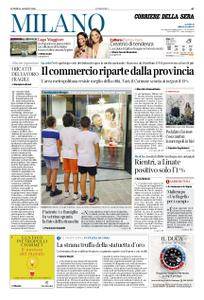 Corriere della Sera Milano – 31 agosto 2020