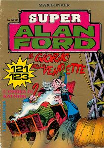 Super Alan Ford Serie Oro - Volume 41 - Numeri 121, 122, 123