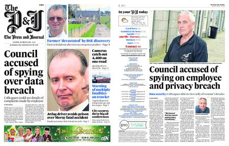 The Press and Journal Moray – October 20, 2018