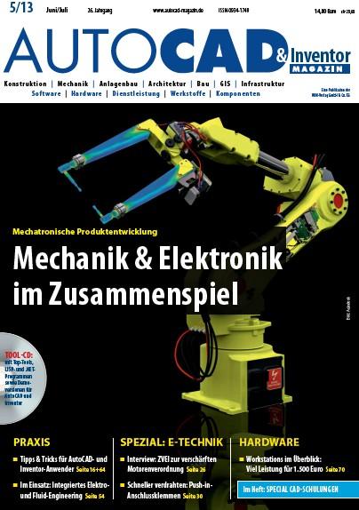 AUTOCAD & Inventor Magazin Juni Juli No 05 2013