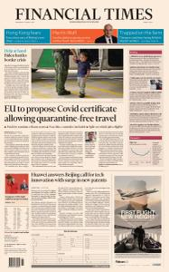 Financial Times Middle East - March 17, 2021