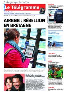 Le Télégramme Guingamp – 03 novembre 2019
