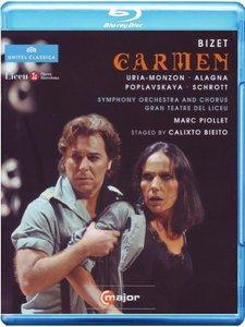Marc Piollet, Symphony Orchestra of the Gran Teatre del Liceu, B. Uria-Monzon, R. Alagna - Bizet: Carmen (2011) [Blu-Ray]