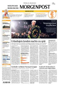Solinger Morgenpost – 24. Januar 2020