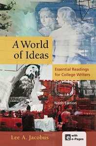 "Lee A. Jacobus, ""A World of Ideas: Essential Readings for College Writers"" (repost)"
