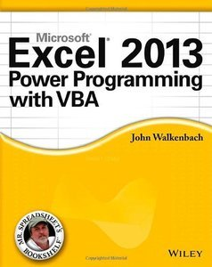 Excel 2013 Power Programming with VBA (repost)