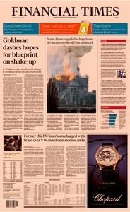 Financial Times Europe – 16 April 2019
