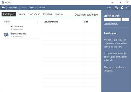 SoftwareNetz Document Archive 1.51 Multilingual