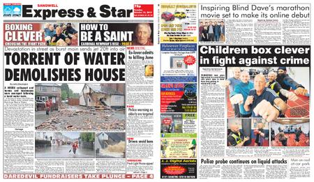 Express and Star Sandwell Edition – October 15, 2019