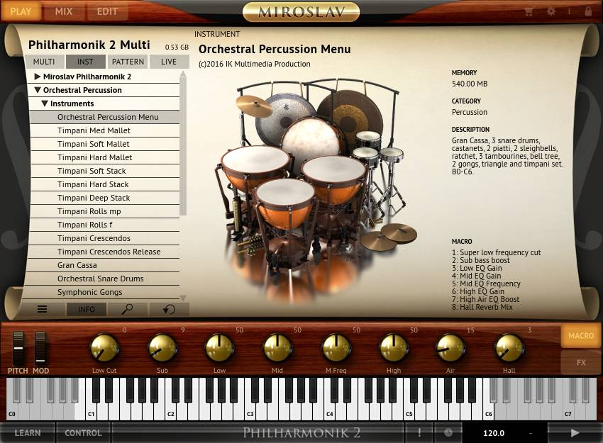 Orchestra Drums VST - Tiqy
