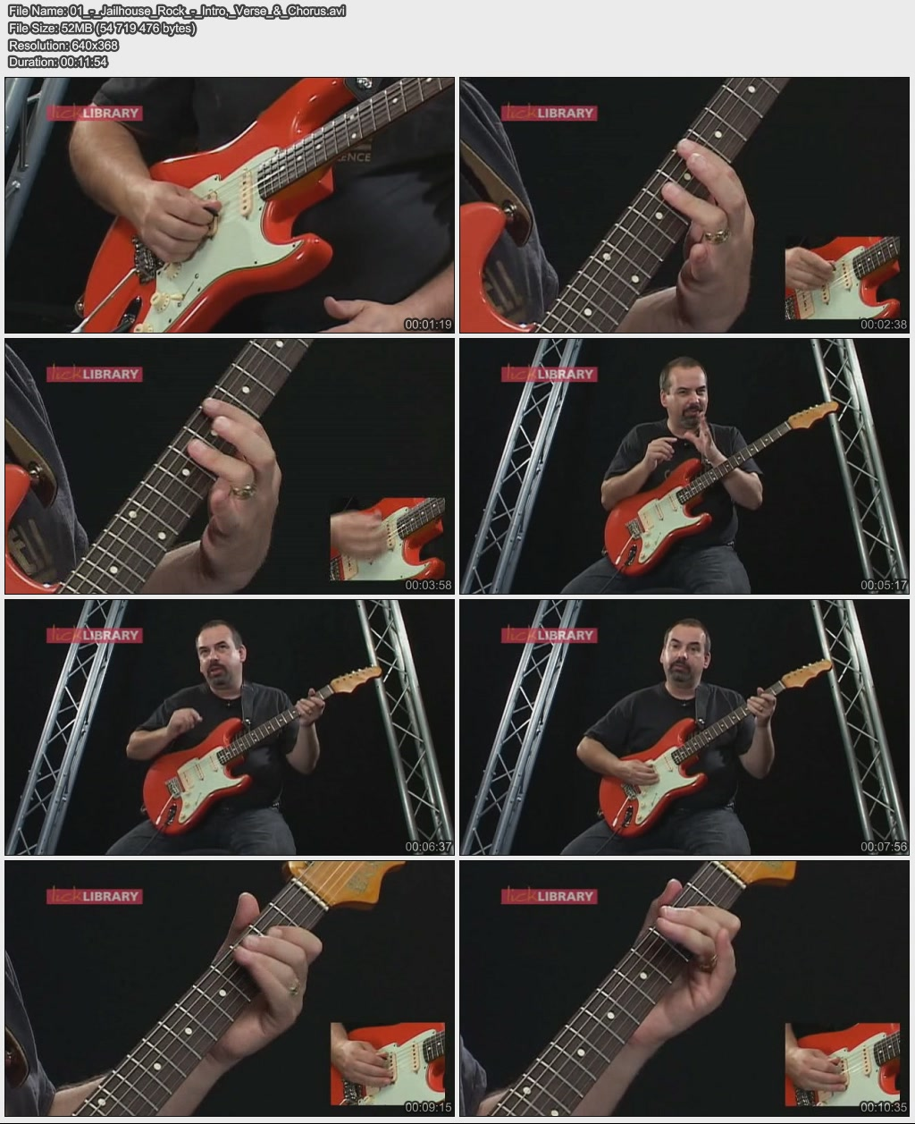 Lick Library - Learn to play Rock & Roll Guitar Classic Tracks