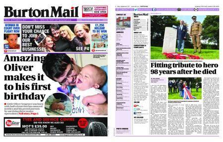 Burton Mail – September 08, 2017