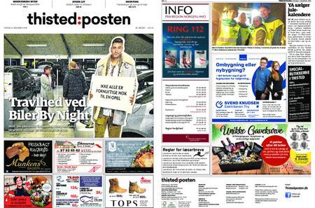 Thisted Posten – 06. november 2019