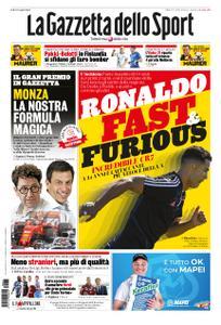 La Gazzetta dello Sport Roma – 07 settembre 2019