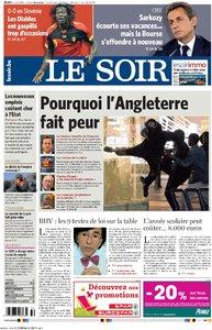 LE SOIR 11 AOUT 2011