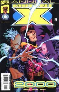 Mutant X Annual 2000