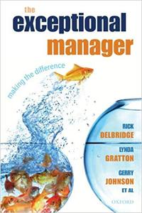 The Exceptional Manager: Making the Difference (Repost)