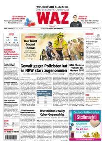 WAZ Westdeutsche Allgemeine Zeitung Oberhausen-Sterkrade - 20. Juli 2018