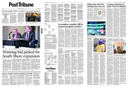 Post-Tribune – January 28, 2020