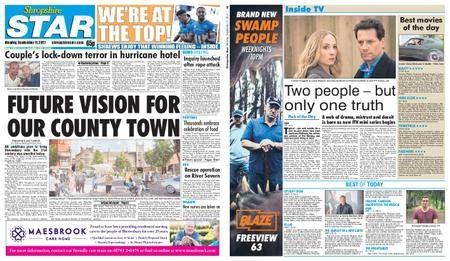 Shropshire Star Shrewsbury Edition – September 11, 2017