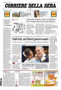 Corriere della Sera – 25 gennaio 2019