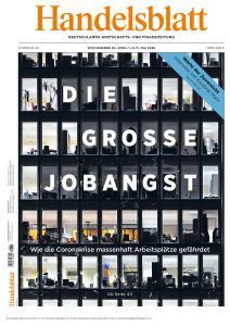 Handelsblatt - 30 April - 3 Mai 2020