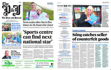 The Press and Journal Moray – October 08, 2018