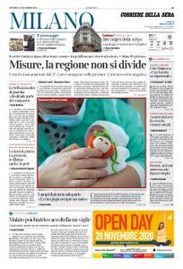 Corriere della Sera Milano – 20 novembre 2020
