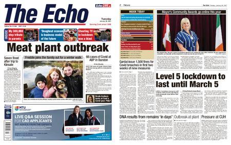 Evening Echo – January 26, 2021
