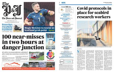The Press and Journal Moray – March 26, 2021