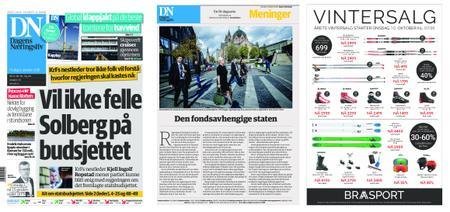 Dagens Næringsliv – 09. oktober 2018