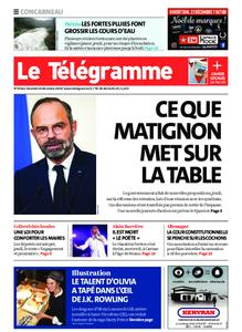 Le Télégramme Concarneau – 20 décembre 2019
