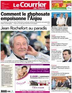 Le Courrier de l'Ouest Angers - 10 Octobre 2017