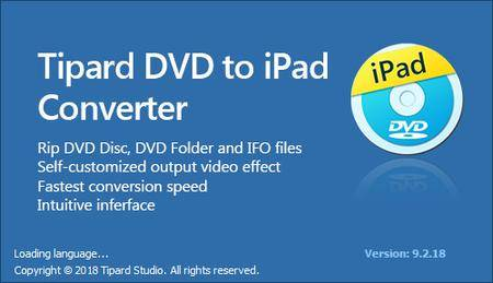Tipard DVD to iPad Converter v9.2.20 Multilingual
