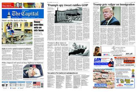 The Capital – January 12, 2018