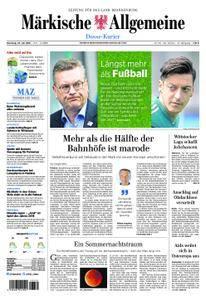 Märkische Allgemeine Dosse Kurier - 24. Juli 2018