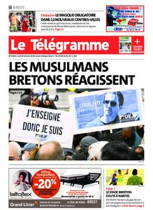 Le Télégramme Brest – 19 octobre 2020