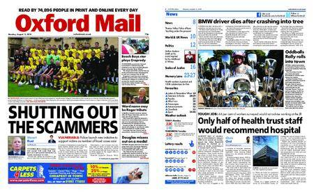 Oxford Mail – August 13, 2018