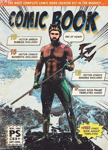 GraphicRiver - Retro Comic Book Photoshop Action Kit - 24379894