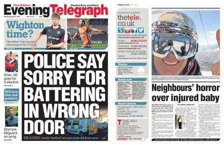 Evening Telegraph First Edition – April 04, 2018