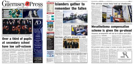 The Guernsey Press – 11 November 2019