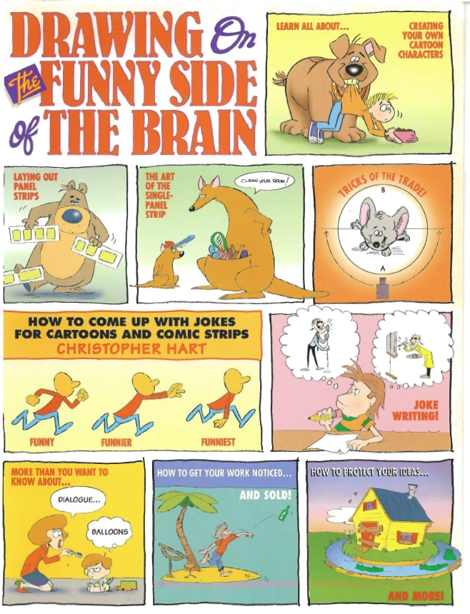 Drawing on the Funny Side of the Brain [Repost]