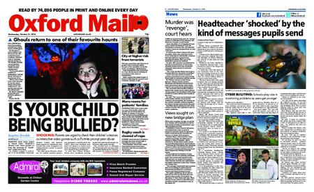 Oxford Mail – October 31, 2018