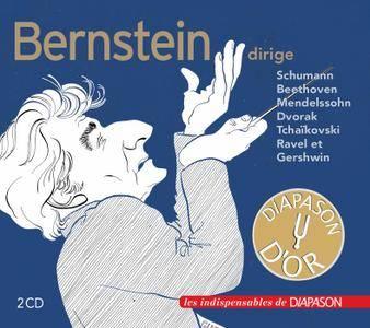 New York Philharmonic, RCA Victor Orchestra & Leonard Bernstein - Bernstein dirige Schumann, Beethoven, Mendelssohn... (2018)