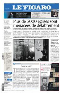 Le Figaro du Jeudi 25 Avril 2019